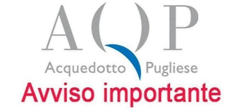 Erogazione idrica nei comuni di Andria, Trani e Bisceglie:riduzione dal 28/6 al 01/7