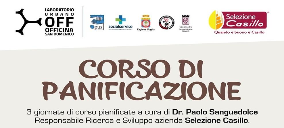 Officina San Domenico: al via corso di panificazione.