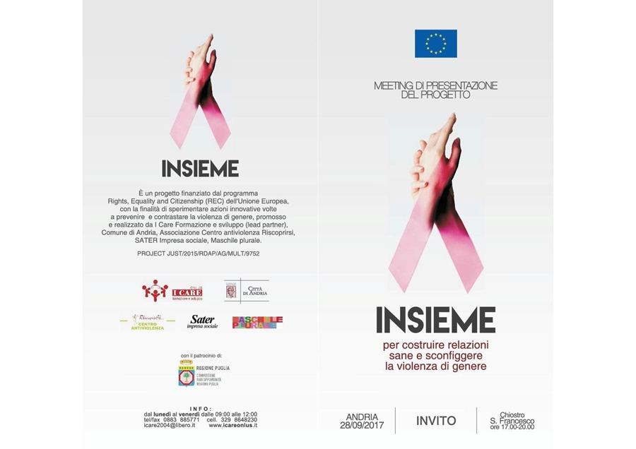 Violenza contro le donne il 28 9 presentazione programma for Insieme del programma della casa