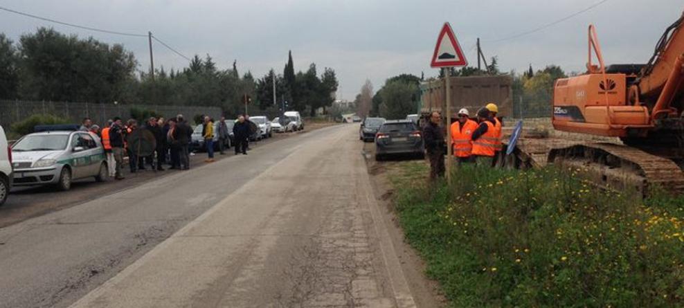 Strada Andria-Bisceglie: chiusura al traffico veicolare  dal 15 gennaio al 15 marzo 2018