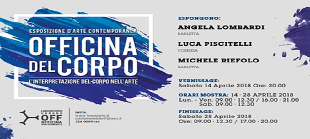 Officina del Corpo a San Domenico dal 14 al 28 aprile