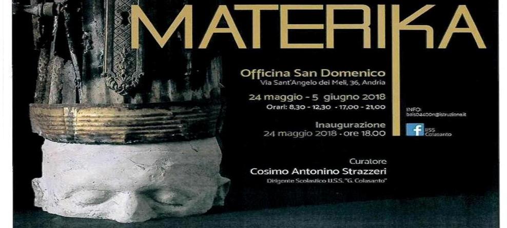 Mostra d'Arte all'Officina San Domenico dal 24/5 al 5 giugno