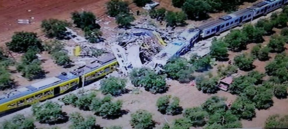 Incidente ferroviario di Andria-Corato: DSG 23 maggio 2018 (criteri di corresponsione delle elargizioni ai familiari delle vittime e ai soggetti che hanno riportato lesioni gravi e gravissime) - scadenza istanze 23/07/2018