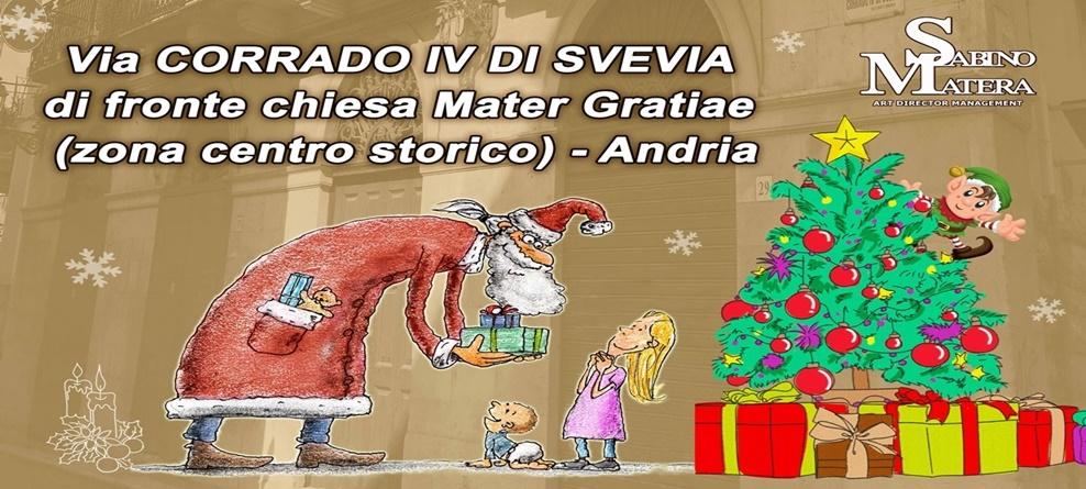 Babbo Natale ad Andria dal 24 novembre al 6 gennaio 2019