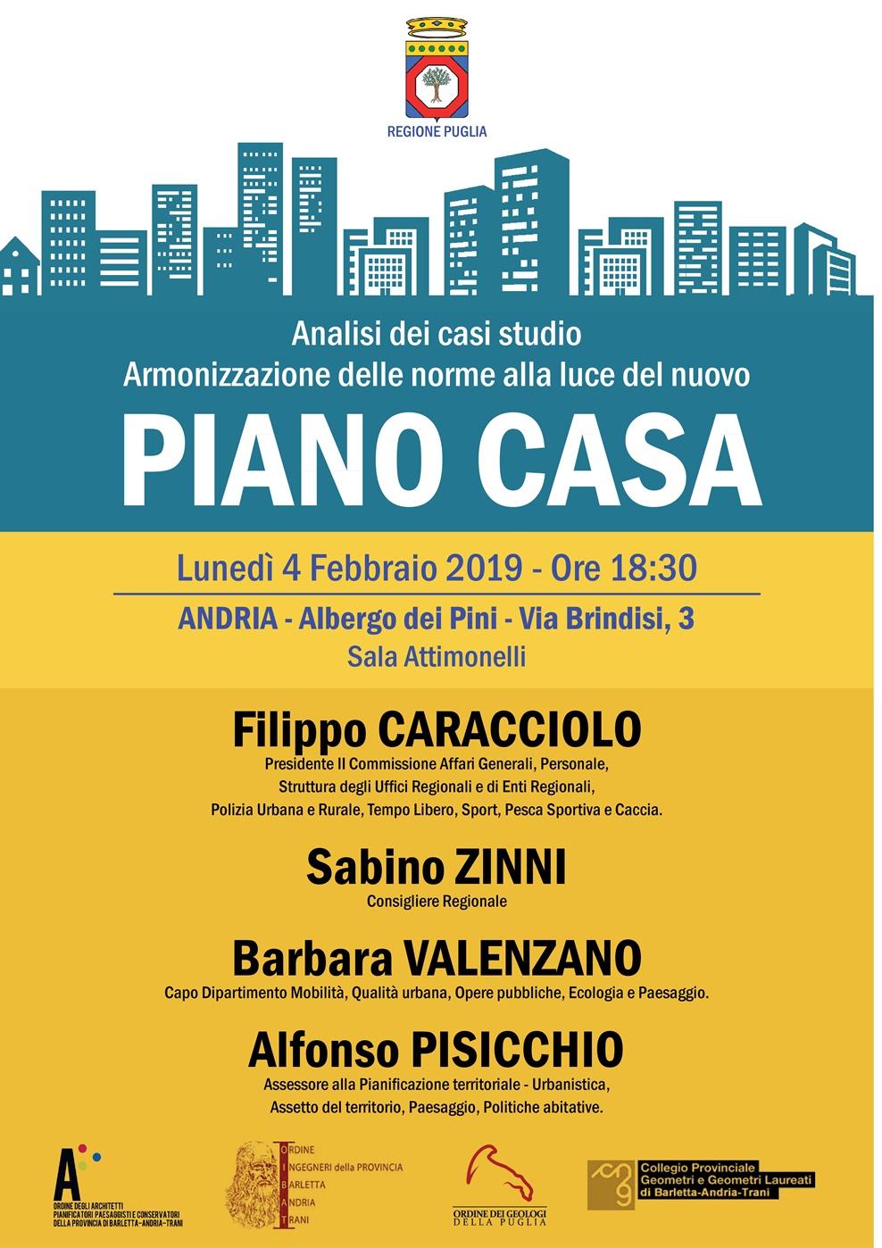 Piano Casa: incontro il 4 febbraio - Comune di Andria