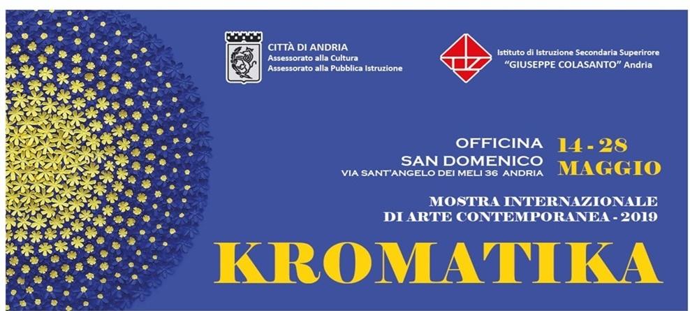 """Mostra """"KROMATIKA"""":  secondo incontro  """"La donna nell'Arte"""" il 27 maggio all'Officina  San  Domenico"""