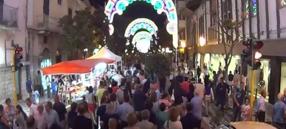 Festa Patronale 2019:  divieti al traffico su Corso Cavour dal 14 al 16 settembre