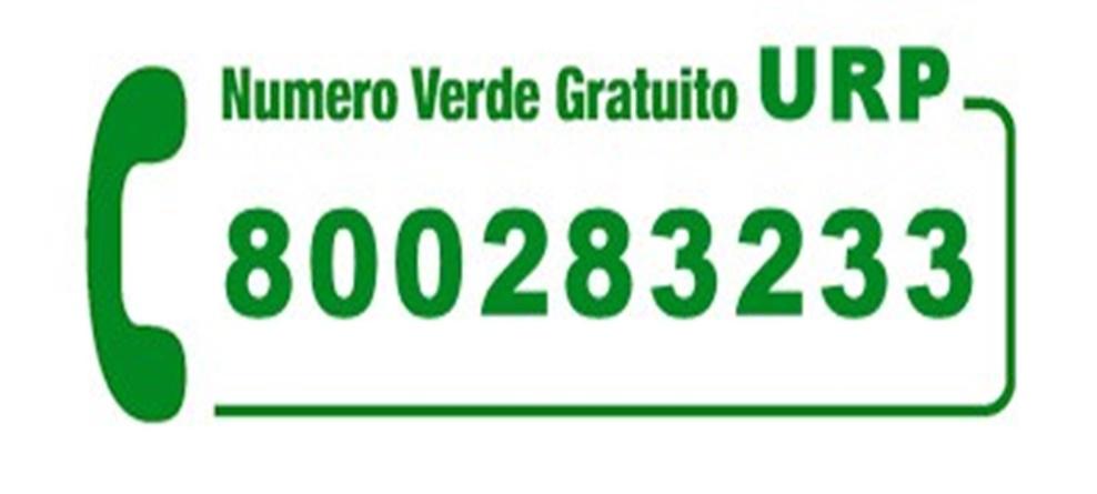 NUMERO VERDE 800283233 SOLO PER ASSISTENZA DOMICILIARE CITTADINI IN QUARANTENA E ULTRA 65ENNI NON AUTOSUFFICIENTI.