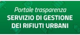 Portale trasparenza, servizio di gestione dei rifiuti urbani