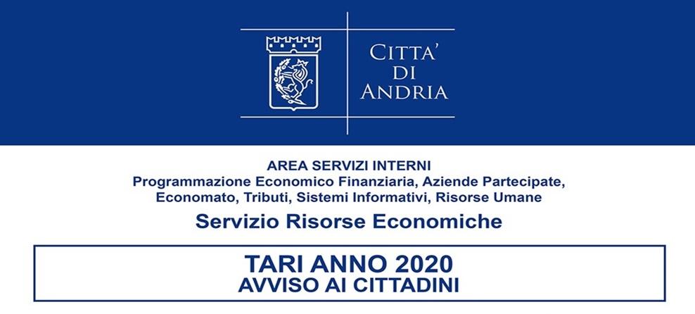 TARI 2020: in pagamento al 30.9 e 30.11.2020