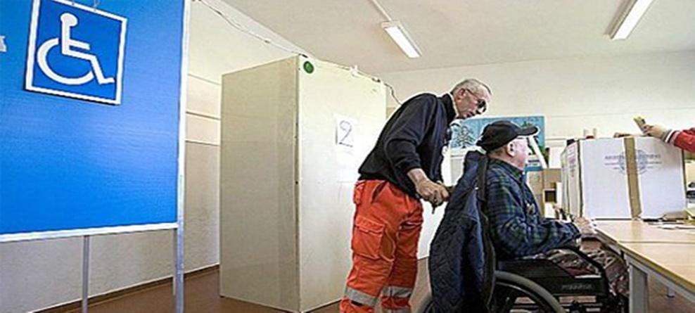 Elezioni: votazione elettori non deambulanti