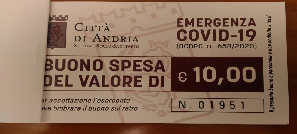 COVID, DAL 24/12  DOMANDE SOLO ON LINE, FINO AD ESAURIMENTO FONDI, PER BUONI SPESA ALIMENTARE PER 953MILA EURO